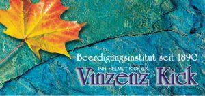 Beerdigungsinstitut Vinzenz Kick Inh. Helmut Kick Logo